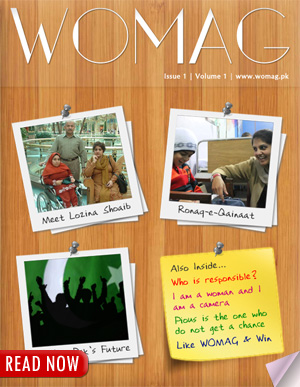 WOMAG First Issue
